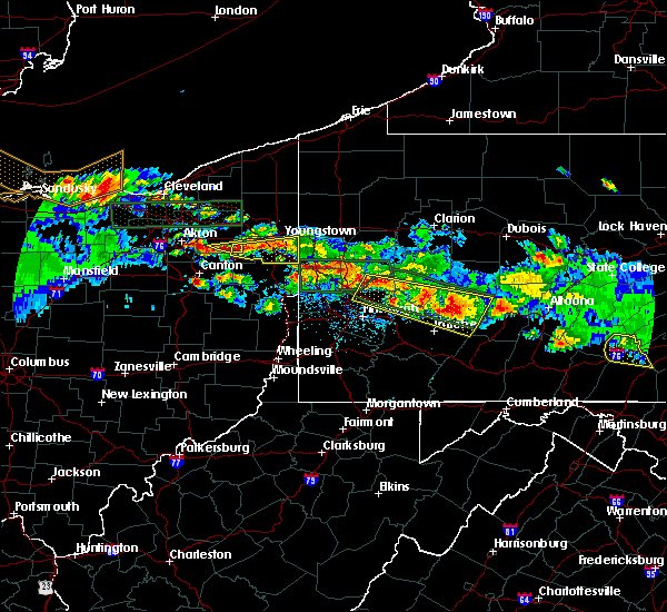 Radar Image for Severe Thunderstorms near Campbell, OH at 5/28/2019 6:47 PM EDT