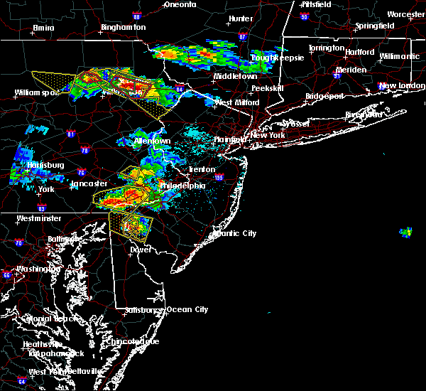 Radar Image for Severe Thunderstorms near Oak Valley, NJ at 5/28/2019 6:56 PM EDT