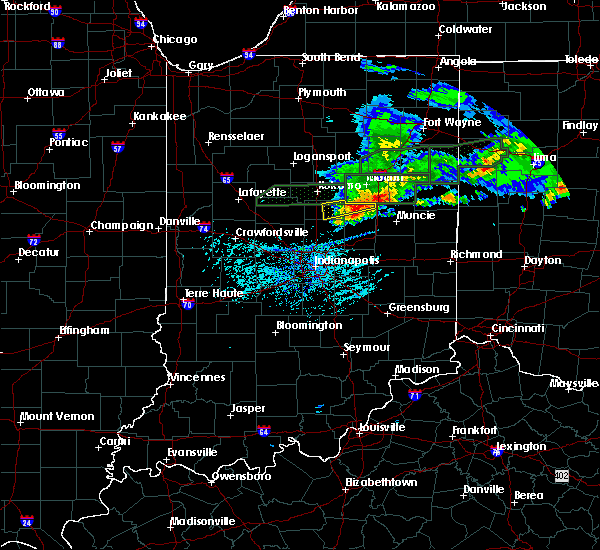 Radar Image for Severe Thunderstorms near Elwood, IN at 5/28/2019 6:58 PM EDT