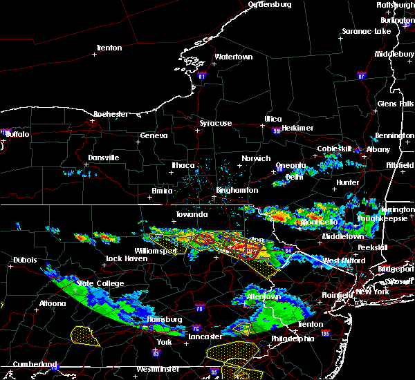 Radar Image for Severe Thunderstorms near Dunmore, PA at 5/28/2019 6:58 PM EDT
