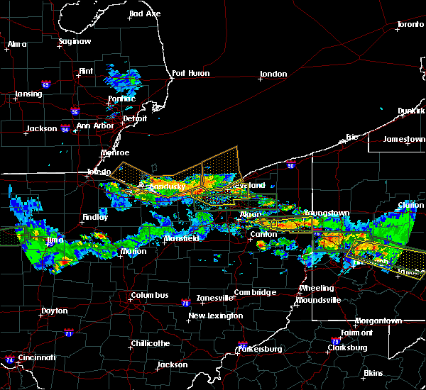 Radar Image for Severe Thunderstorms near Broadview Heights, OH at 5/28/2019 7:00 PM EDT