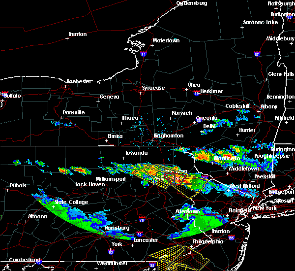 Radar Image for Severe Thunderstorms near Dunmore, PA at 5/28/2019 7:13 PM EDT