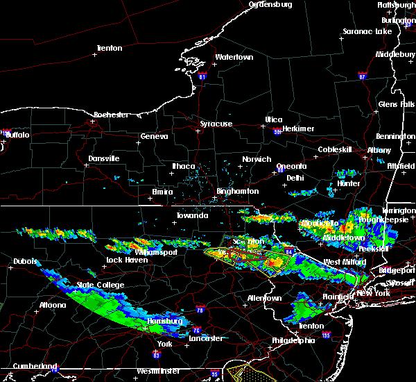 Radar Image for Severe Thunderstorms near Scranton, PA at 5/28/2019 7:37 PM EDT
