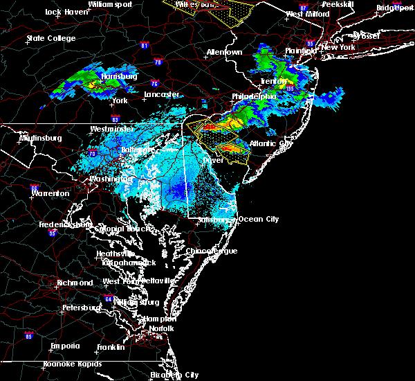 Radar Image for Severe Thunderstorms near Pennsville, NJ at 5/28/2019 7:40 PM EDT