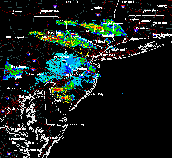 Radar Image for Severe Thunderstorms near Stroudsburg, PA at 5/28/2019 7:45 PM EDT
