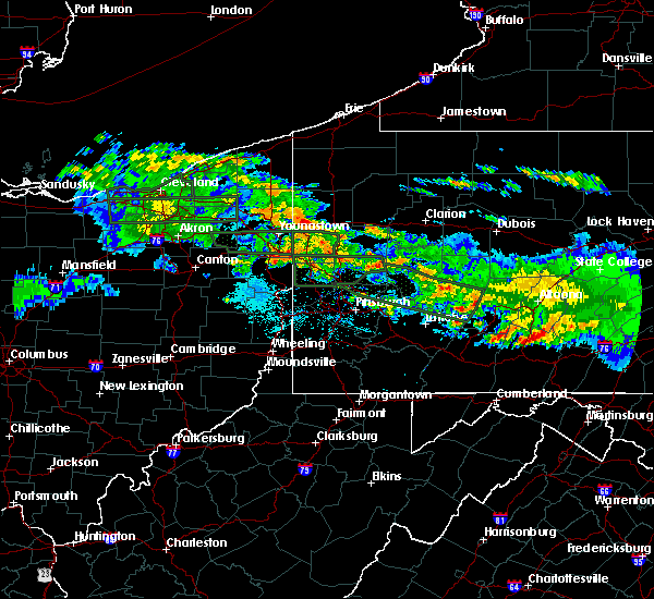 Radar Image for Severe Thunderstorms near Leetonia, OH at 5/28/2019 7:56 PM EDT