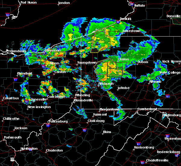 Radar Image for Severe Thunderstorms near Titusville, PA at 6/14/2015 7:39 PM EDT