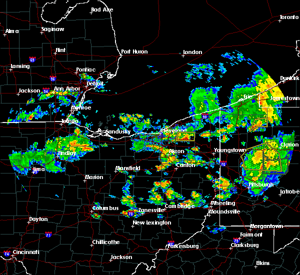 Radar Image for Severe Thunderstorms near Middlefield, OH at 6/14/2015 7:41 PM EDT