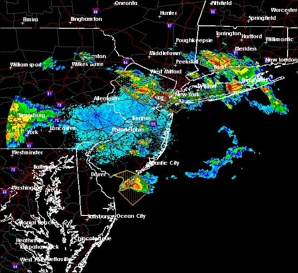 Radar Image for Severe Thunderstorms near Roselle Park, NJ at 5/28/2019 9:21 PM EDT
