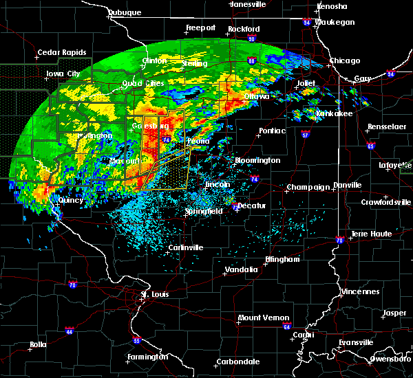 Radar Image for Severe Thunderstorms near Liverpool, IL at 5/28/2019 8:40 PM CDT