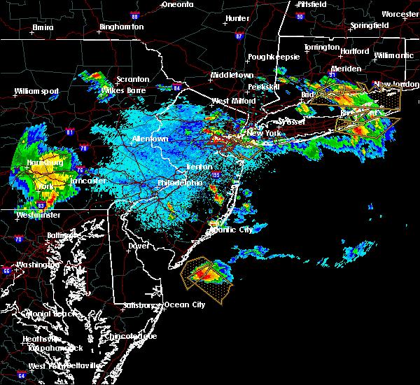 Radar Image for Severe Thunderstorms near Silver Ridge, NJ at 5/28/2019 9:55 PM EDT