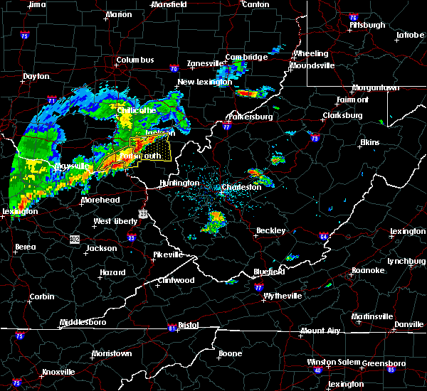 Radar Image for Severe Thunderstorms near South Shore, KY at 5/29/2019 11:39 AM EDT