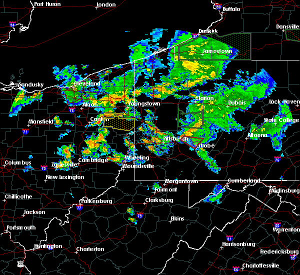 Radar Image for Severe Thunderstorms near Loyalhanna, PA at 6/14/2015 8:27 PM EDT