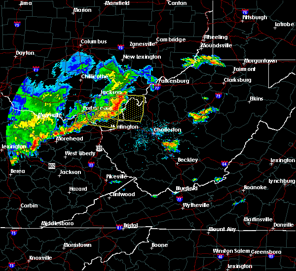 Radar Image for Severe Thunderstorms near Greenup, KY at 5/29/2019 12:09 PM EDT
