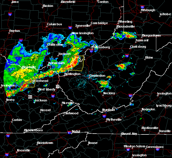 Radar Image for Severe Thunderstorms near Gallipolis, OH at 5/29/2019 12:22 PM EDT