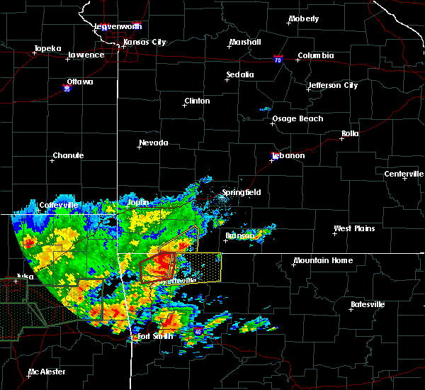 Radar Image for Severe Thunderstorms near Alpena, AR at 5/29/2019 12:23 PM CDT