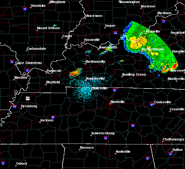 Radar Image for Severe Thunderstorms near Princeton, KY at 5/29/2019 1:05 PM CDT