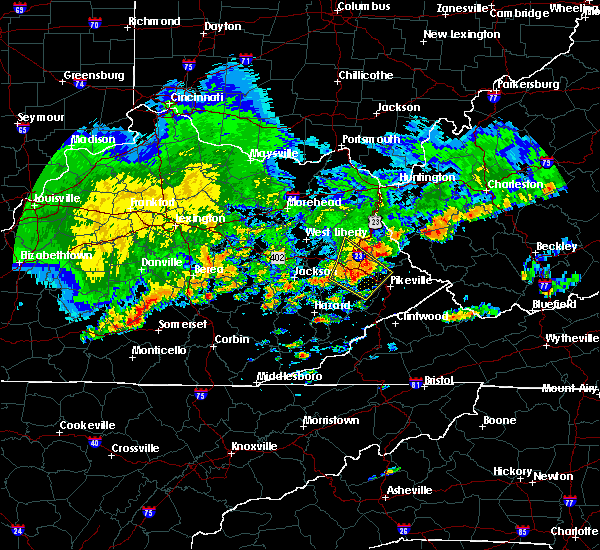 Radar Image for Severe Thunderstorms near Warfield, KY at 5/29/2019 2:23 PM EDT