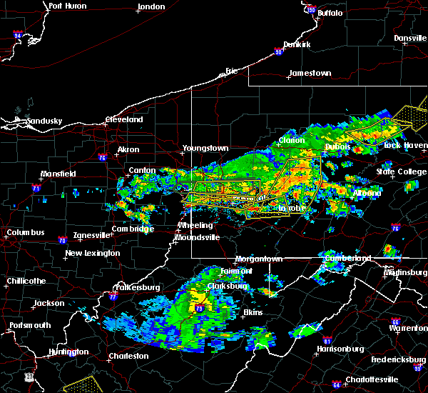 Radar Image for Severe Thunderstorms near Bradford Woods, PA at 5/29/2019 2:30 PM EDT