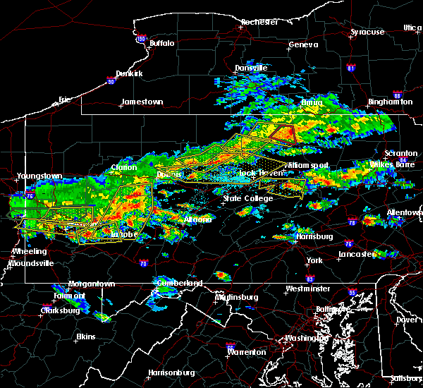Radar Image for Severe Thunderstorms near Grassflat, PA at 5/29/2019 2:35 PM EDT