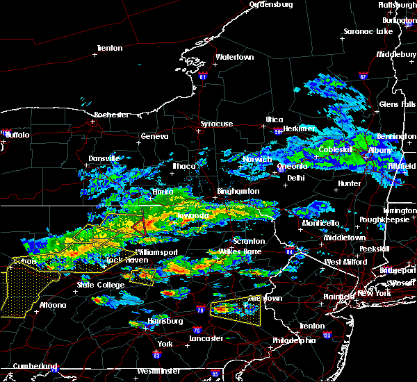 Radar Image for Severe Thunderstorms near Frackville, PA at 5/29/2019 2:41 PM EDT