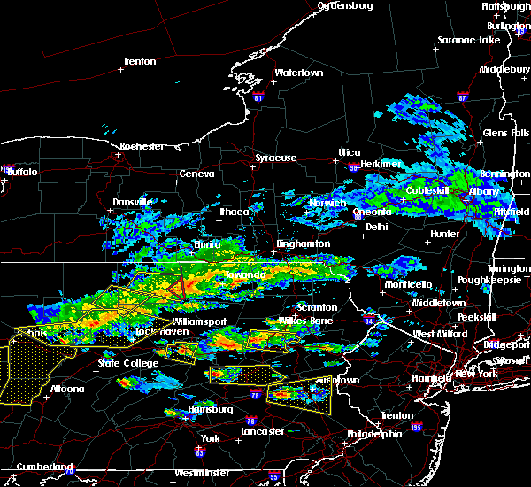 Radar Image for Severe Thunderstorms near Sugar Notch, PA at 5/29/2019 2:44 PM EDT