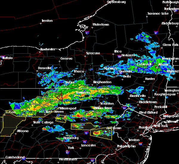 Radar Image for Severe Thunderstorms near Almedia, PA at 5/29/2019 2:46 PM EDT