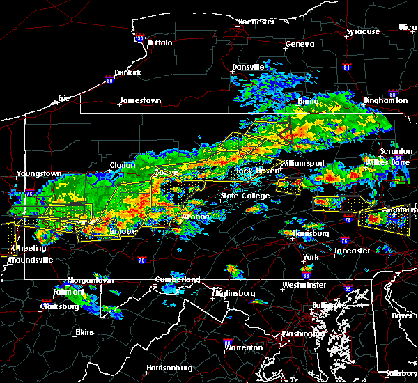 Radar Image for Severe Thunderstorms near Iola, PA at 5/29/2019 2:48 PM EDT