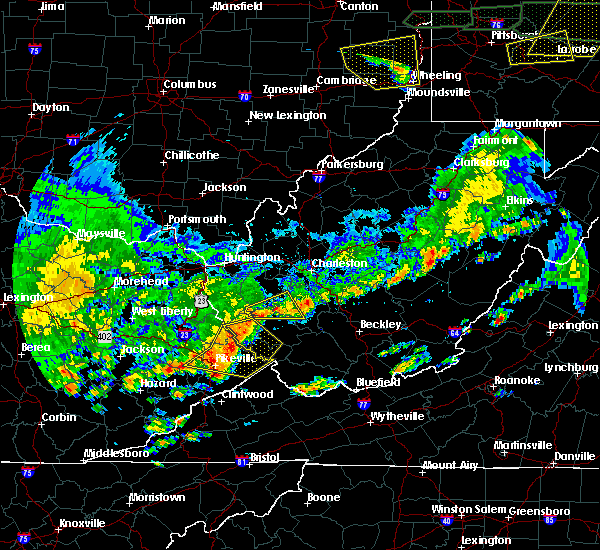 Radar Image for Severe Thunderstorms near Warfield, KY at 5/29/2019 2:50 PM EDT