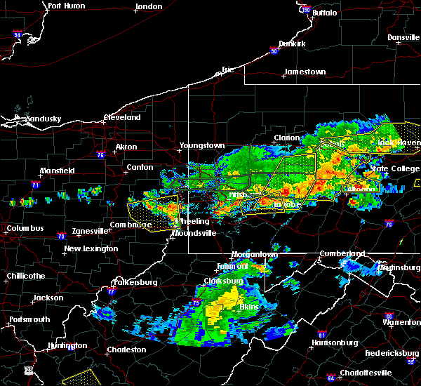 Radar Image for Severe Thunderstorms near Atwood, PA at 5/29/2019 2:56 PM EDT