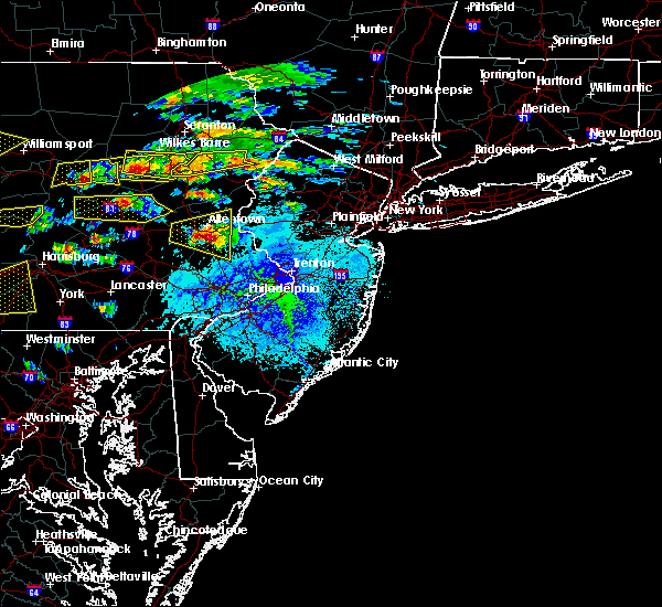 Radar Image for Severe Thunderstorms near DeSales University, PA at 5/29/2019 3:13 PM EDT