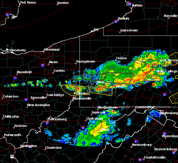 Radar Image for Severe Thunderstorms near Mount Pleasant, OH at 5/29/2019 3:13 PM EDT
