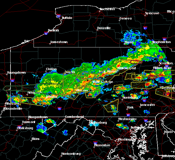 Radar Image for Severe Thunderstorms near Port Trevorton, PA at 5/29/2019 3:23 PM EDT