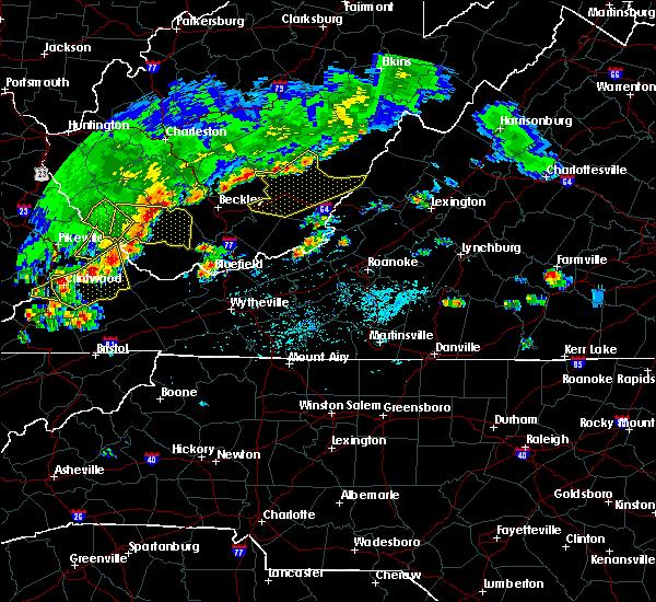Radar Image for Severe Thunderstorms near Cedar Bluff, VA at 5/29/2019 3:28 PM EDT