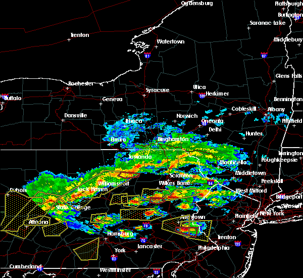 Radar Image for Severe Thunderstorms near Carbondale, PA at 5/29/2019 3:30 PM EDT