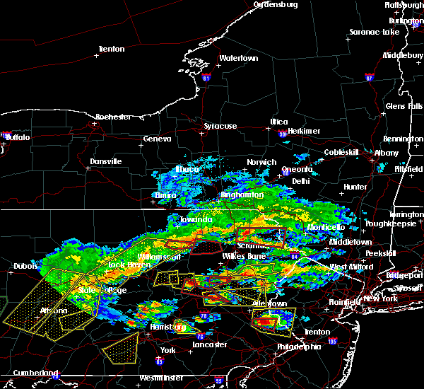 Radar Image for Severe Thunderstorms near Nescopeck, PA at 5/29/2019 3:35 PM EDT