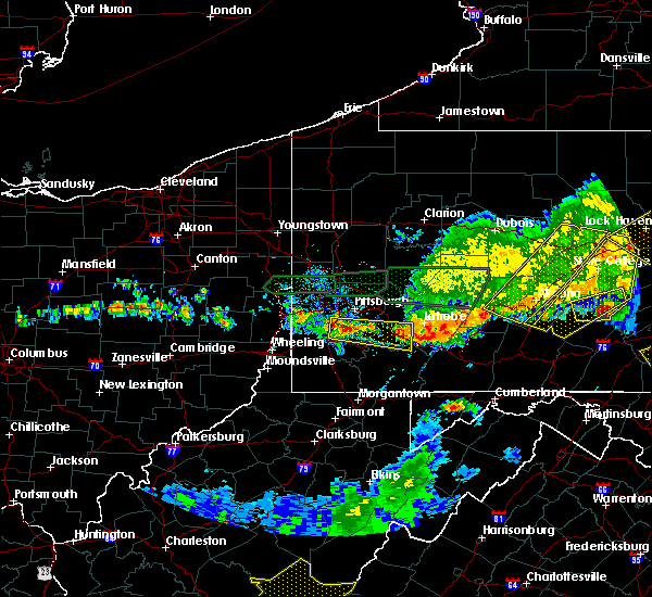 Radar Image for Severe Thunderstorms near Youngstown, PA at 5/29/2019 3:36 PM EDT