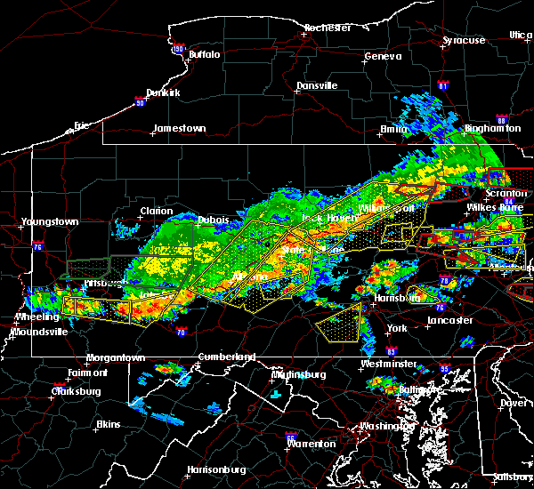 Radar Image for Severe Thunderstorms near Rupert, PA at 5/29/2019 3:43 PM EDT