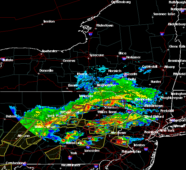 Radar Image for Severe Thunderstorms near Hometown, PA at 5/29/2019 3:46 PM EDT