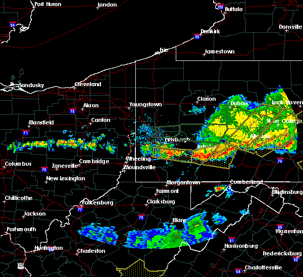 Radar Image for Severe Thunderstorms near Youngstown, PA at 5/29/2019 3:46 PM EDT