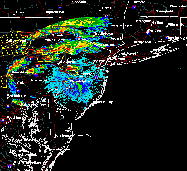 Radar Image for Severe Thunderstorms near Stroudsburg, PA at 5/29/2019 3:46 PM EDT