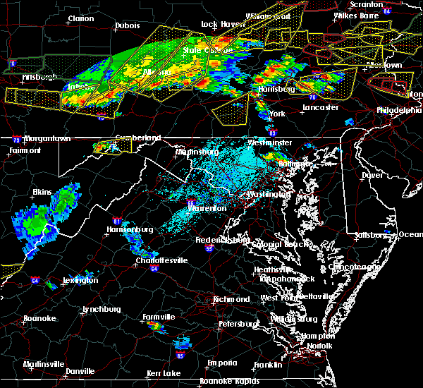 Radar Image for Severe Thunderstorms near Gilmore, MD at 5/29/2019 3:47 PM EDT