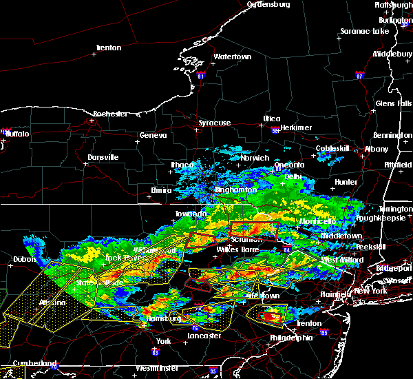 Radar Image for Severe Thunderstorms near Carbondale, PA at 5/29/2019 3:50 PM EDT