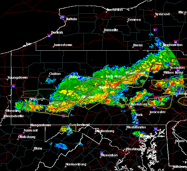 Radar Image for Severe Thunderstorms near Port Royal, PA at 5/29/2019 3:50 PM EDT