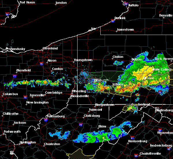 Radar Image for Severe Thunderstorms near Youngstown, PA at 5/29/2019 4:00 PM EDT