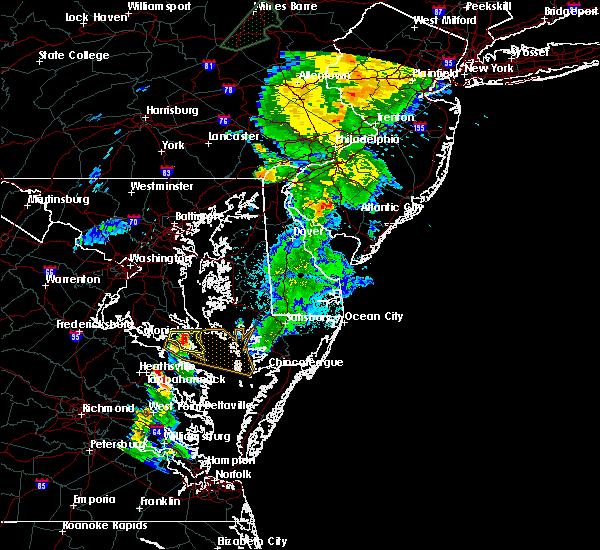 Radar Image for Severe Thunderstorms near Lexington Park, MD at 6/14/2015 9:07 PM EDT