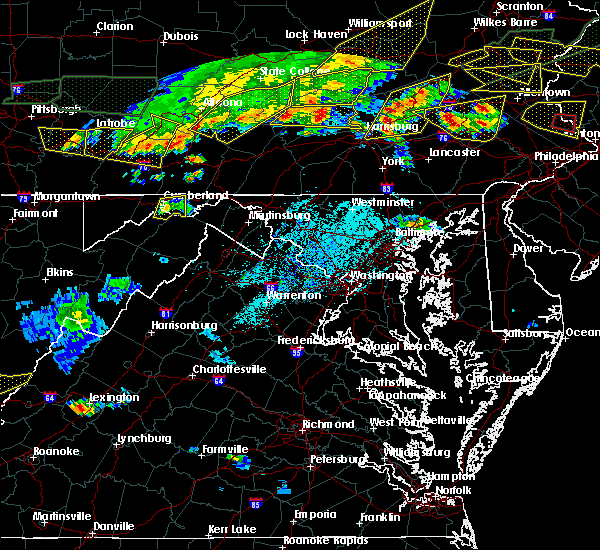 Radar Image for Severe Thunderstorms near Ridgeley, MD at 5/29/2019 4:04 PM EDT