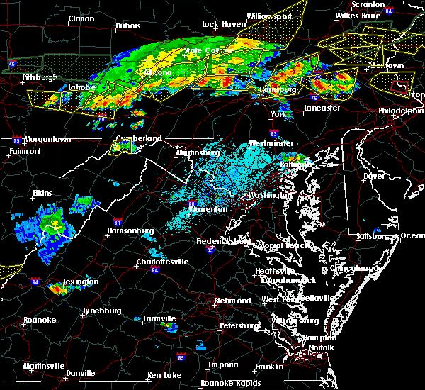 Radar Image for Severe Thunderstorms near Fort Ashby, WV at 5/29/2019 4:04 PM EDT