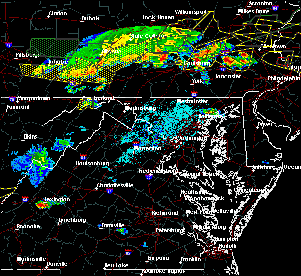 Radar Image for Severe Thunderstorms near Ridgeley, MD at 5/29/2019 4:10 PM EDT