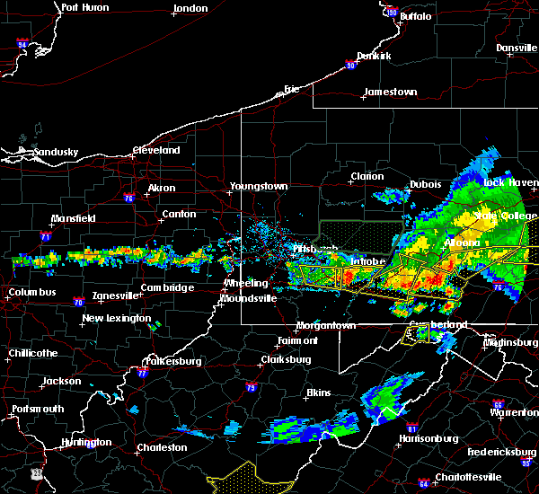 Radar Image for Severe Thunderstorms near Youngstown, PA at 5/29/2019 4:16 PM EDT
